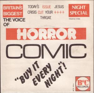 Horrorcomic Jesus Crisis