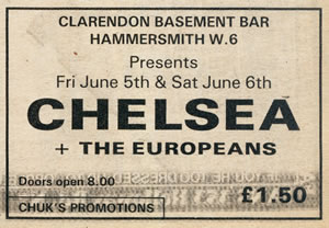 the above gig advert for the 39 basement bar 39 appeared in 39 sounds
