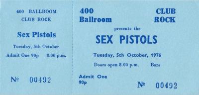 Sex Pistols Ticket 70